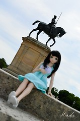 Domaine de Chantilly (Miinakô's Dreams) Tags: domaine chantilly parc photo photography paysage cheval chateau patrimoine france musée doll dollfie dream dd rin shooting shibuya dress bjd vinyl visite volks idolmaster cinderella girls project