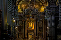The Ecstasy of Gold (jimdellamaggiora) Tags: sanluispotosí color gold architecture baroque religion art candelabras light altar cathedral old building landmark historic gothic