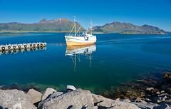 Lofoten arrival (silverwine) Tags: lofoten islands lofotenislands norway norse boat fishing