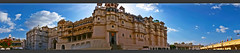 panoramic view of city palace (usha_karma) Tags: india rajasthan udaipur palace architecture buildings monuments travel tourism culture lifestyle city royal royallife fort panaroma sky acient history heritage historicalplace maharanapratap asia holidays indianculture indiantradition