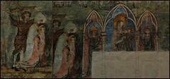 9 - Tours - Cathédrale Saint-Gatien - Peinture murale - Vie de Saint Martin (melina1965) Tags: juillet july 2007 centrevaldeloire indreetloire tours nikon d80 mosaïque mosaïques mosaic mosaics collages collage macros macro église églises church churches peinture painting