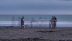 Taking photos at the sunset on the beach (jokinzuru) Tags: 1116 tokina 70d eos canon color ecuador esmeraldas casablanca same beach sunset takingphotos