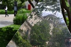 2017-06-11: Relgious Art (psyxjaw) Tags: london londonist sunday walk sun art reflection sculpture stpauls stpaulscathedral cathedral cityoflondon