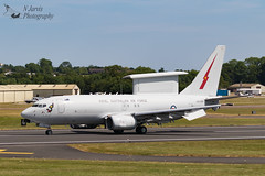 Royal Australian Airforce Boeing E-7A Wedgetail (737-7ES) A30-006 (njjarvis) Tags: e7a royalinternationalairtattoo aircraft royalaustralianairforce riat radar flying canon 100thanniversary boeing airfield raf 2017 2ndsquadron flight 737 wedgetail departures a30006 fairford 7dmk2 eos ef100400mmf4556lisiiusm uk airshow