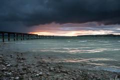 Regen in der Nähe (ungesund) Tags: ammersee bayern graufilter nd sommer langzeitbelichtung
