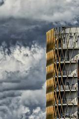 Orage (Isa-belle33) Tags: architecture urban urbain city ville ginko aquitaine gironde bordeaux nuages clouds fuji fujifilm fujixt1 design ecoquartier nouvelleaquitaine