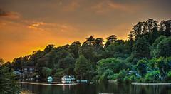 River Thames sunset afterglow (Steve Franklin Images) Tags: river thames riverthames sunset afterglow reading berkshire unitedkingdom