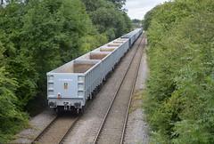 66752 at North Anston [2 of 2] (parkgateparker) Tags: gbrf 66752 northanston syjnt southyorkshirejoint aggregate jna