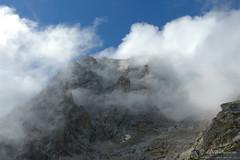 Corno Grande, misticanze (EmozionInUnClick - l'Avventuriero's photos) Tags: cornogrande gransasso montagna nuvole