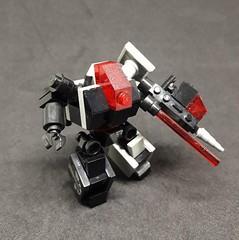 ST-01 Mining Guild Variant (Vitor O S Faria) Tags: mfz mf0 mobileframezero mobileframe lego mecha mech