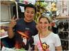 China - Peizheng College - 050 (duncansapien) Tags: portrait china peizhengcollege happy shopkeeper chinese