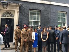At 10 Downing Street