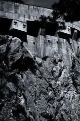 SW (Peter Balogh - A) Tags: austria hohe wand felsen bergstrase beton schwarzweis