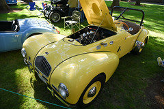 1951 Allard K2 (faasdant) Tags: 45th annual forest grove concours delegance 2017 pacific university campus classic car automobile show exhibition 1951 allard k2 yellow roadster