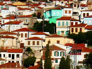 Άνω Βαθύ, Σάμος / Windows view at Samos, Greece
