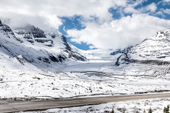 Columbia Ice Field (NoVice87) Tags: canada icefieldsparkway athabascaglacier columbiaicefield mountains snow road