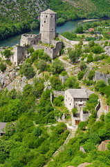 41 - Bosnie-Herzégovine, Počitelj, au bord de la Neretva (paspog) Tags: mai may europe islan bosnieherzégovine počitelj neretva