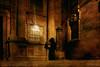 secret (*silviaON) Tags: night dark shadow city pilgrimshadow caminoportugués santiagodecompostela textured flypaper