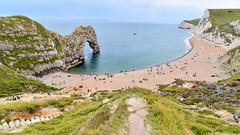 Durdle Door (M!G Photography) Tags: beach landscape seascape sea water ocea waves summer dorset uk rocks cliffs sand coast ngc