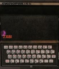 Did it all start here !. (Adrian Walker.) Tags: elements zx81 computer maddona muesum scotland