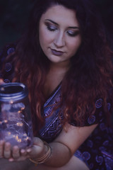 Super Cut (audsthetics) Tags: girl longhair brownhair ombre moody purple aesthetic bokeh twinklelights fairylights tattoo tattoos girlswithtattoos nature natural portrait portraitphotography portraitphotographer