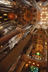 Sagrada Familia (DaveStrong) Tags: canon 5d mark 5dmarkii 5dii 5d2 5dmark2 markii mark2 2 ii 24105 24105mm 24105l 24105f4 24105mml spain barcelona summer holiday vacation church sacred chapel basilica sagrada familia light cathedral