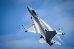 F-16AM Fighting Falcon – Royal Danish Air Force.....{Explore #225 20.07.17} (lee adcock) Tags: tamron150600 airday airshow navy nikond7200 somerset yeovil yeovilton f16am fightingfalcon royaldanishairforce