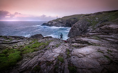 To The Lighthouse (David Haughton) Tags: trevose lighthouse cornwall cornish coast rocks sea sunset evening fineart seascape landscape davidhaughton
