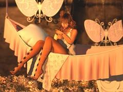 Echoes beneath. (LollipopLace Resident) Tags: atelierpepe belleza catwa kawaiiproject kustom9 labaguette lotus mossmink n21 phedora pinkfuel powderpack thehomeshow17 tram uber veechi villena