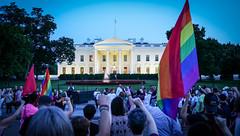 2017.07.26 Protest Trans Military Ban, White House, Washington DC USA 7683