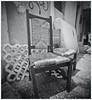 Fotografía Estenopeica (Pinhole Photography) (Black and White Fine Art) Tags: aristaedu400 pinhole6214x214 pinhole03mm niksilverefexpro2 lightroom3 camaraestenopeica estenopeica estenopo pinhole pinholephotography sanjuan oldsanjuan viejosanjuan puertorico bn bw silla chair