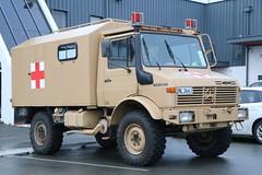 NL 3661 (ambodavenz) Tags: mercedes benz unimog u1300l ambulance vehicle new zealand army defence force timaru south canterbury 4wd four wheel drive