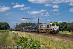 X-T2-1447 (LierTrainspotter) Tags: captrain ct class66 l12 lijn 12 roosendaal gefco citroen autotrein