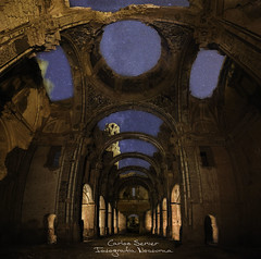igllesia belchite (server.carlos) Tags: belchite iglesia cruz lightpainting nightscapes nightphotography milkyway via lactea longexposure largaexposición canon 1635mm