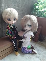 Keith & Jacob 1 (Lunalila1) Tags: doll isul vermelho jacob glen keith
