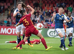 17270376 (roel.ubels) Tags: voetbal vrouwenvoetbal soccer deventer sport topsport 2017 spanje spain espagne schotland scotland ek europese kampioenschappen european worldchampionships