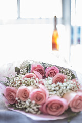 Pink bouquet (paippb) Tags: red marriage proposal bouquet pink flower rose engagement