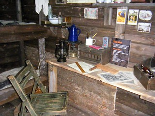 National Arboretum, England - replica of life in the trenches