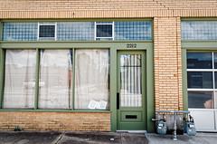 2212 (fallsroad) Tags: tulsaoklahoma kendallwhittier city urban building architecture door windows reflection 2212