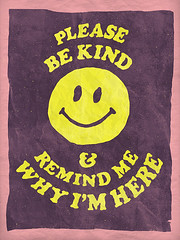 Remind Me (NELSONICBOOM) Tags: graphicdesign design poster print retro vintage hippie movies vhs tape type text typography smileyface happy life smile