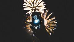 Everglow (stanley yuu) Tags: 天神祭 everglow japan osaka maturi night firework tenjin city iphone 煙火 大阪 日本 祭典 城市 夜 花火