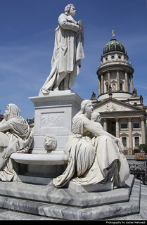 Schiller-Denkmal & Französischer Dom, Berlin, Germany