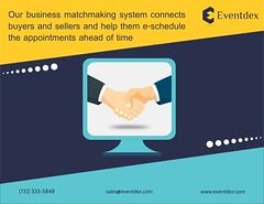Our #businessmatchmaking system connects buyers and sellers and help them e-schedule the appointments ahead of time. (eventdexapps) Tags: qrcodegeneratorapp barcodegeneratorapp eventmanagementapps leadretrievalapp onlineeventregistrationsoftware businessmatchmakingapp eventregistrationapp eventcheckinapp eventappcomparison onsiteeventregistrationsoftware eventapps events eventindustry eventorganizer eventplanner newjersey usa uk tradeshowmanagement