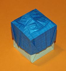 Tessellation boxes (mganans) Tags: origami tessellation box