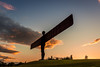 Angel of the North (NickCarterPhotography) Tags: gateshead angel north antony gormley sculpture sunset