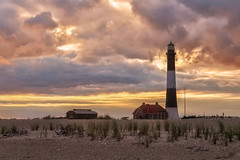 Fire Island Sunset (NYRBlue94) Tags: fire island lighthouse long ny atlantic ocean sunset evening sea seashore summer cloud sky