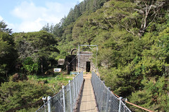 Old gold mines, Karangahake Gorge (RossCunningham183) Tags: karangahakegorge newzealand northisland goldmining heritage suspensionbridge