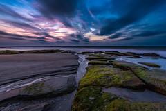 On the beach at 5:30am? (Matt Creighton) Tags: seascape beach ocean tide atlantic explore sunrise morning sand kurebeach north carolina nikon d750 longexposure