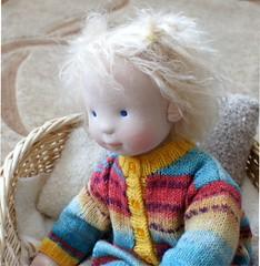 2 (SvetlanaKonyaeva) Tags: waldorf handmade fabric steiner dolls dool toy toys puppe puppekind puppen stoffpuppe stoffpuppen baby child