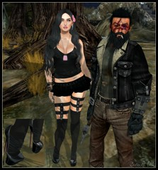 Post #720 (Outcast INK) Tags: sntch glamistry realevilindustries izzies truthhairapparel uber gossamerjewellery darkpassions belleza mandala catwa maitreya strawberrysingh threemoons secondlife sl